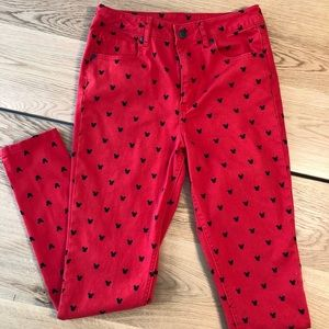 Forever 21 - Mickey Mouse Jeans